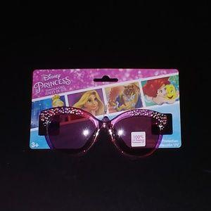 NWT Disney Princess Pink Sparkle Girls 3+ Sunglass